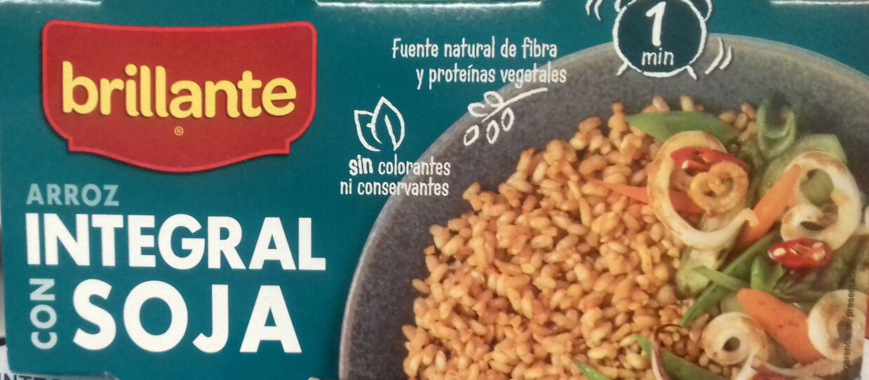 Arroz integral con soja - Product - es