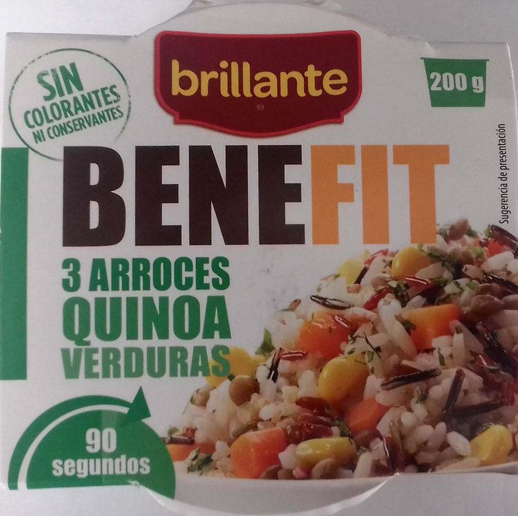 Benefit arroces quinoa y verdura - Producte