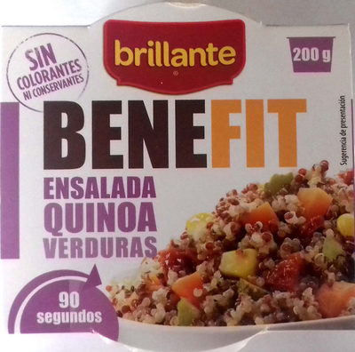Benefit ensalada quinoa y verduras