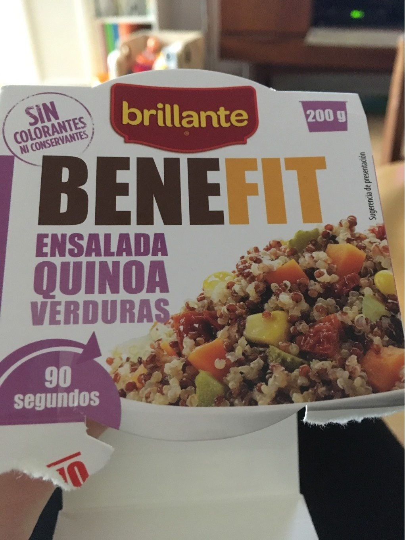 Benefit ensalada quinoa y verduras - Produit