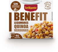 Benefit legumbres quinoa verduras - Produit - es