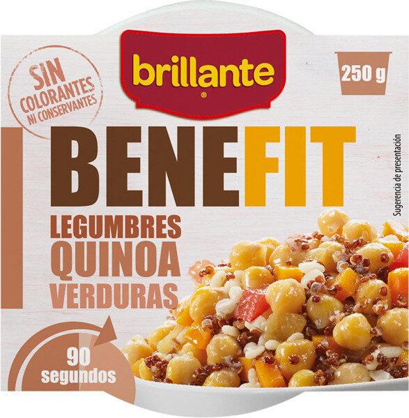 Benefit legumbres quinoa con verduras - Product - es