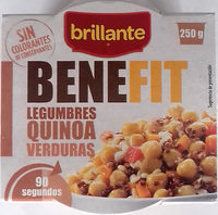 Benefit legumbres quinoa verduras - Producto - es