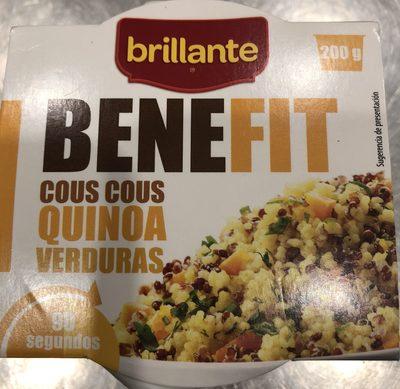 Benefit cous cous quinoa verduras - Producte - es