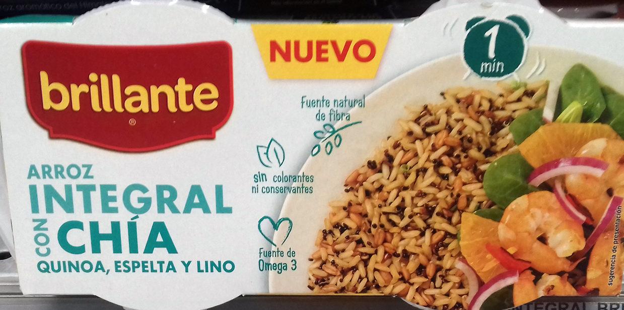 Arroz integral con chía, quinoa, espelta y lino - Producte