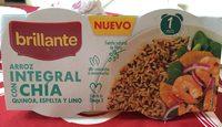 Vasito de arroz integral con chía, quinoa, espelta y lino - Produit - fr