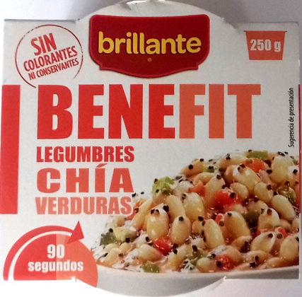 Benefit legumbres chía verduras - Product - es