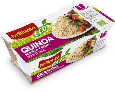 Quinoa blanca y roja ecológica pack 2 envase 125 g - Produit - es