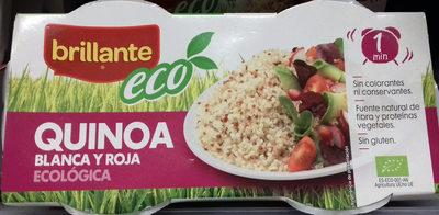 Quinoa blanca y roja ecologica