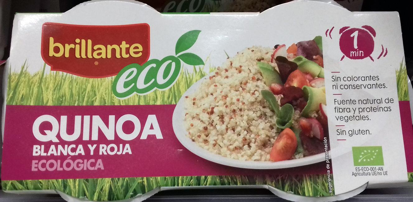 Quinoa blanca y roja ecológica pack 2 envase 125 g - Producto