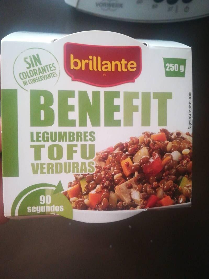 Benefit legumbres tofu verduras - Producto - es