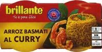 Arroz cocido Basmati al curry - Producte