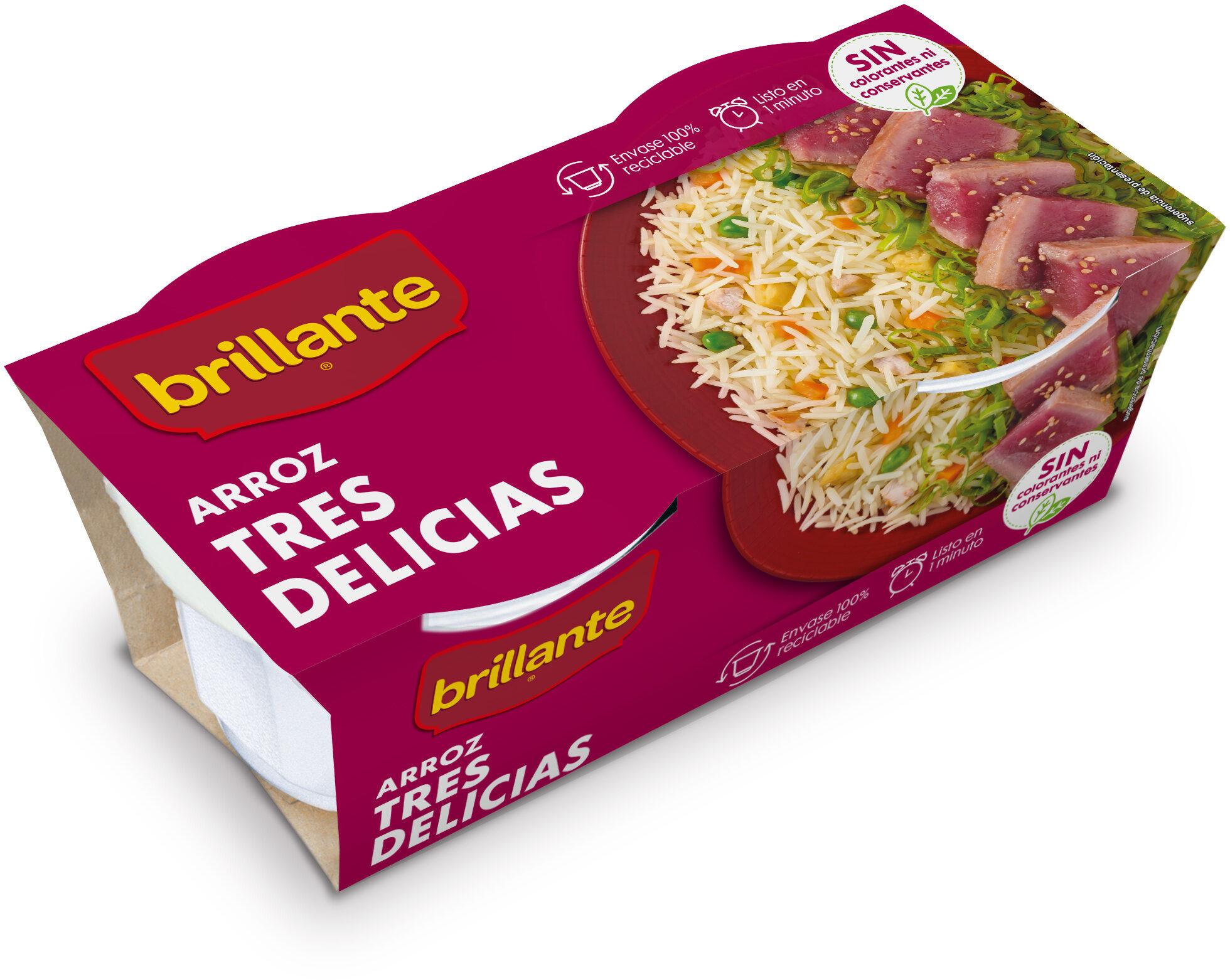 Brillante vasito de arroz tres delicias - Producte - es