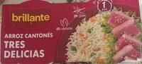 Arroz cantonés cocido tres delicias para guarnición pack 2 envases 250 g - Producto - es