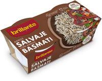 Brillante vasito de arroz salvaje con arroz basmati - Producto - es