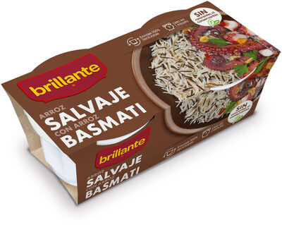 Arroz salvaje con arroz basmati - Product - es