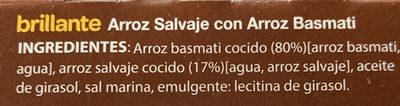 Arroz Salvaje con Arroz Basmati - Ingredientes