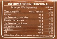Arroz salvaje con arroz basmati - Nutrition facts