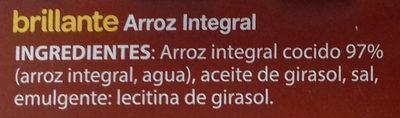 Brillante vasito de Arroz integral - Ingredientes - es