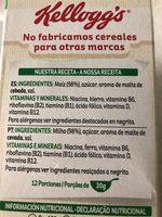 Corn Flakes De Kellogg's Cereales Original - Ingrediënten - es