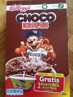 choco krispies - front