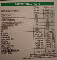 choco krispies - Informations nutritionnelles - es