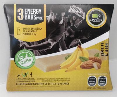 energy bars pack - Producte