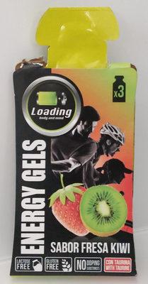 Loading Geles Energéticos Fresa y Kiwi - Producto
