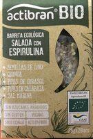 Barrita ecológica salada con espirulina - Producto - es