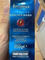 Cafe descafeinado - Ingrediënten