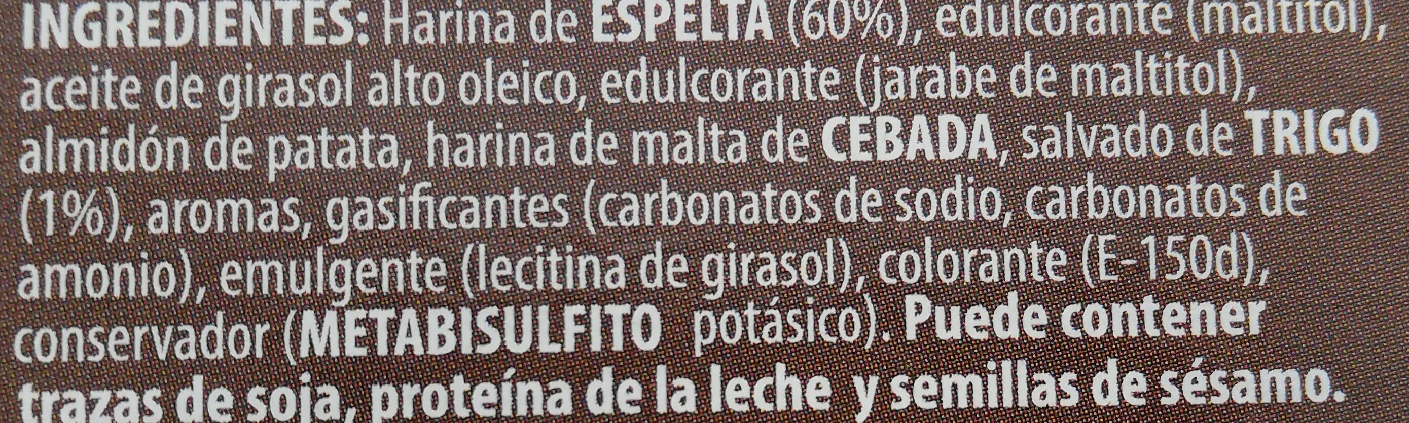 B-san galletas integrales finas de espelta bajas - Ingredients - es