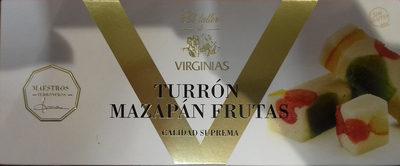 Turrón mazapán frutas - Producte
