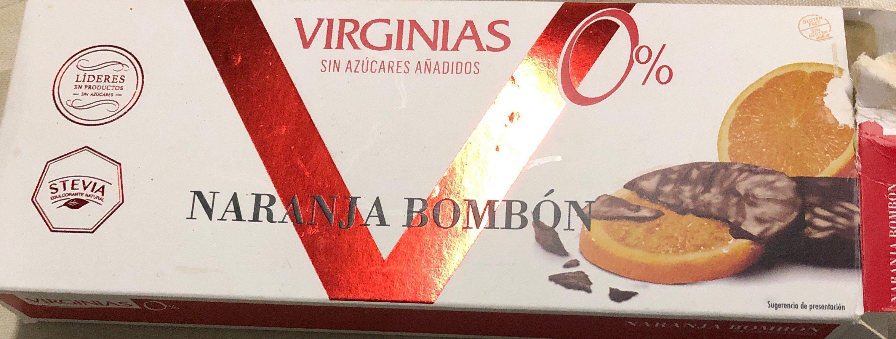 Bombón Naranja Sin Azúcares - Produit