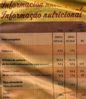 """Patatas fritas onduladas """"Lay's Artesanas"""" - Información nutricional - es"""