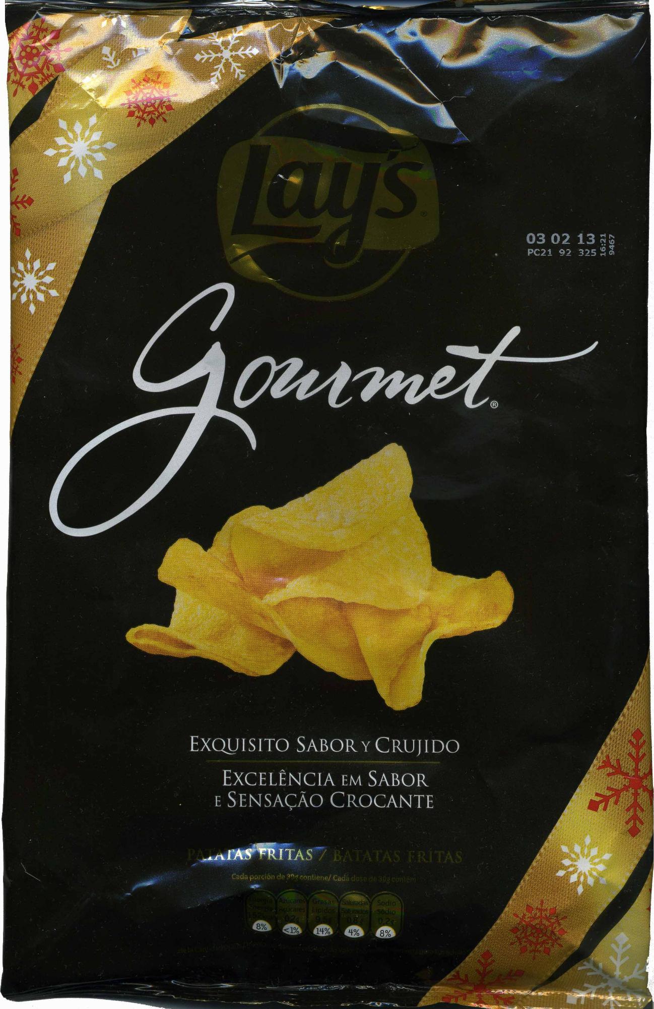 Gourmet patatas fritas - Produto - es