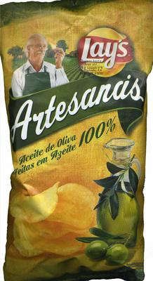"""Patatas fritas lisas """"Lay's Artesanas"""""""