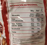 Patatas fritas al punto de sal Sin Gluten bolsa 170 g - Nutrition facts - es