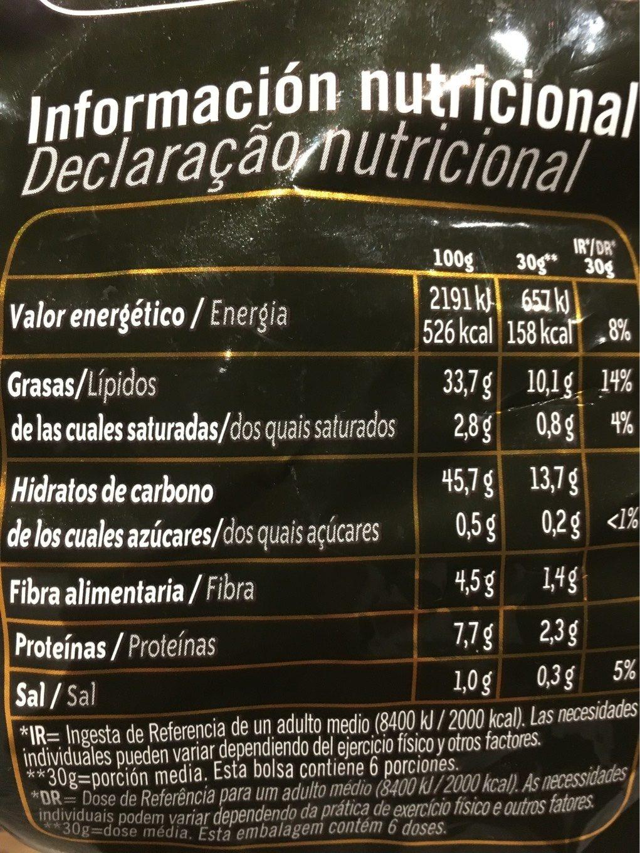 Finísimas patatas fritas corte fino sin gluten - Información nutricional