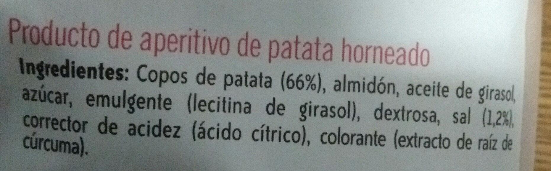 Lay's horno - Ingredients - es