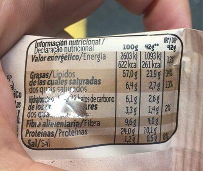 Horno Almendras - Voedingswaarden
