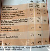 Lay´s Cheese Onion - Informació nutricional