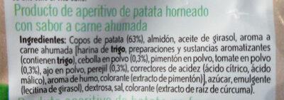 Horno patatas fritas Receta Campesina bolsa 130 g - Ingredients - es