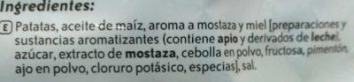 Lays Mostaza Miel128g - Ingredientes - es