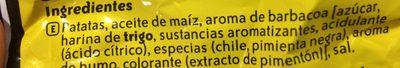 XTRA ONDULADAS sabor a AMERICAN BARBECUE - Ingredientes