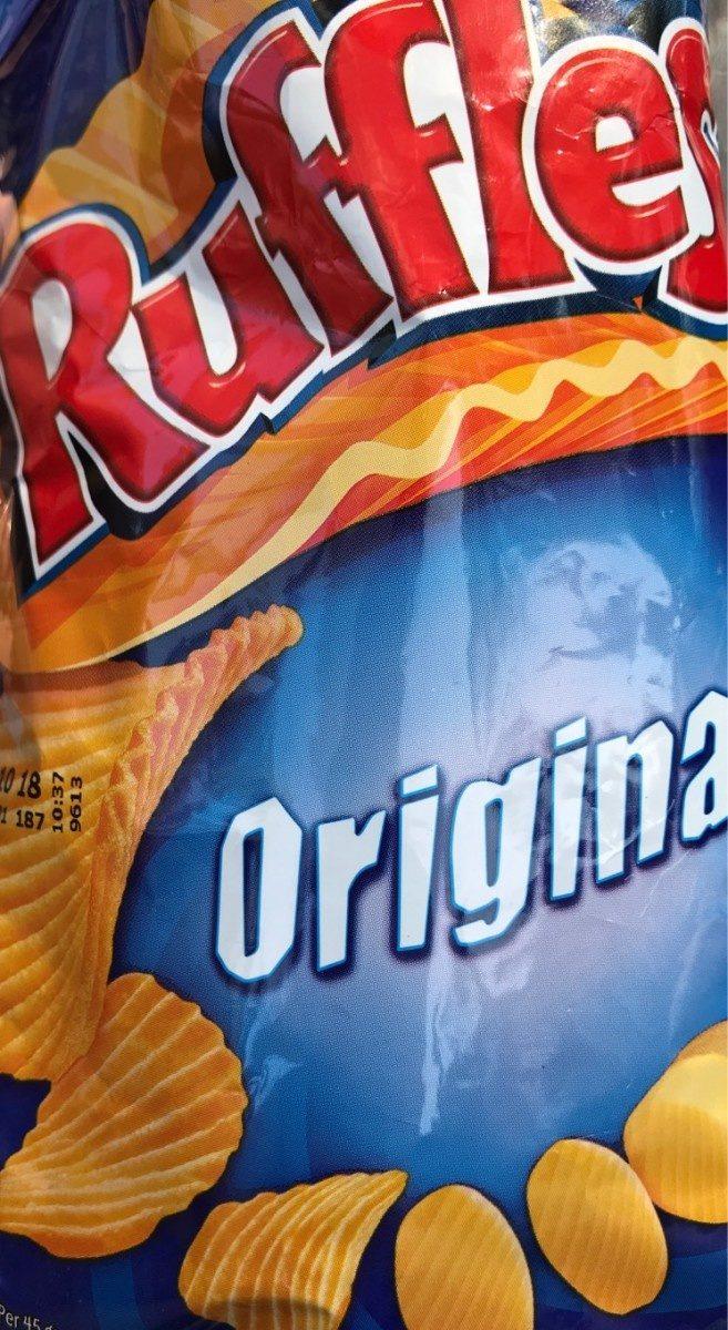 Patatas Ruffles Original Bolsa 45 g - Product
