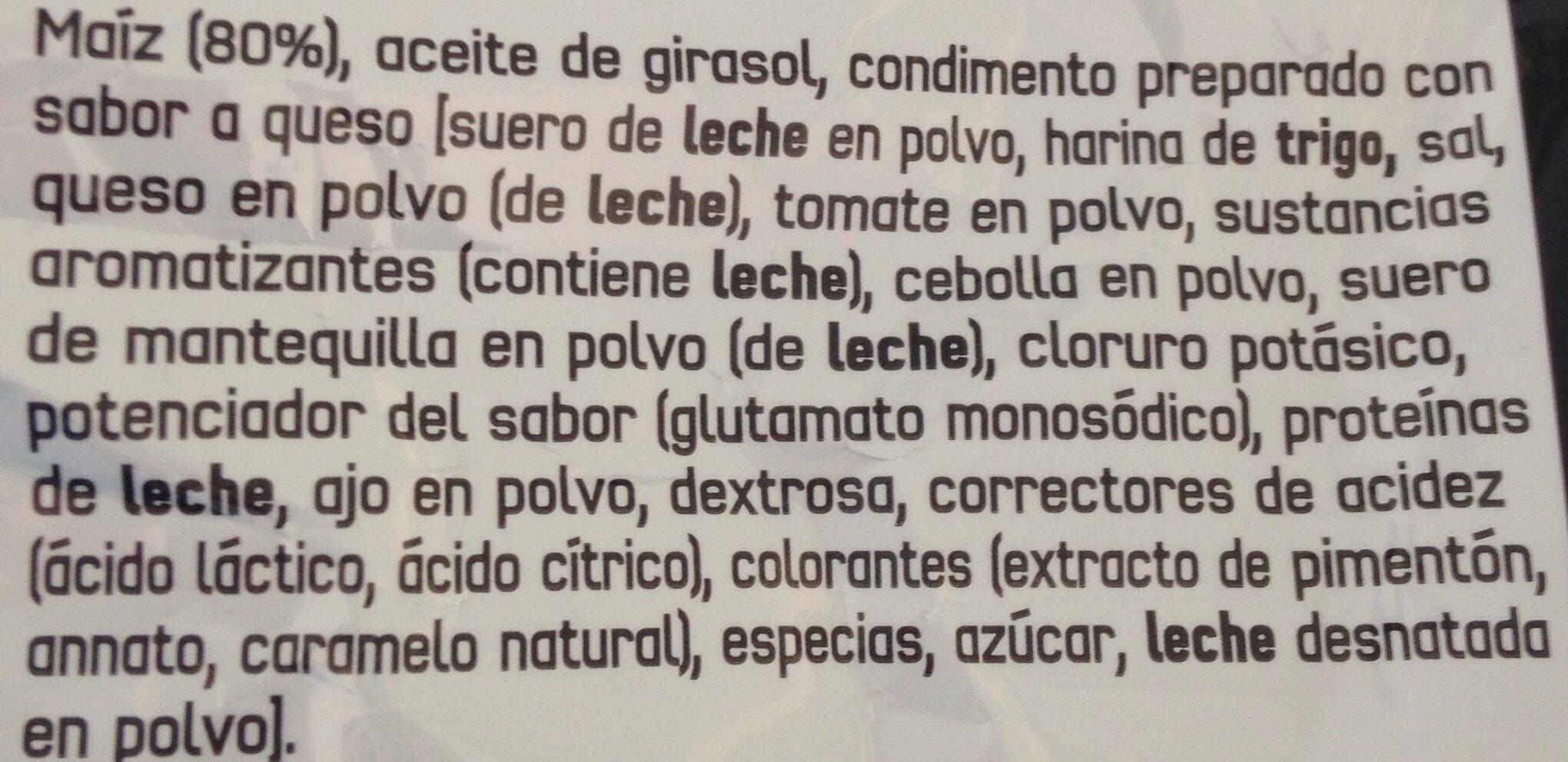 Tex-mex - Ingredients - es