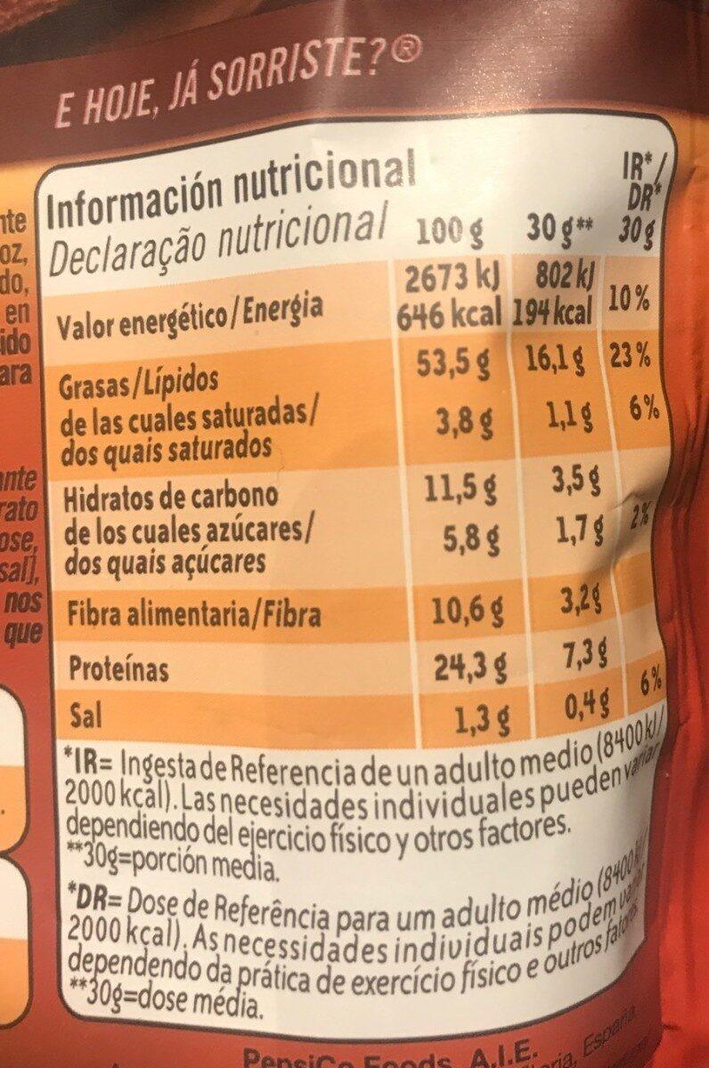 Almendras tostadas al horno - Informació nutricional