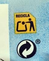Snacks ondulados de multicereales al toque de sal - Recyclinginstructies en / of verpakkingsinformatie - es