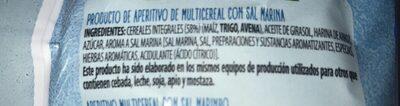 Snack multicereal - Ingredients - es