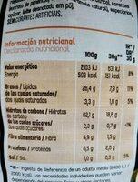 Tex-mex - Informations nutritionnelles - es